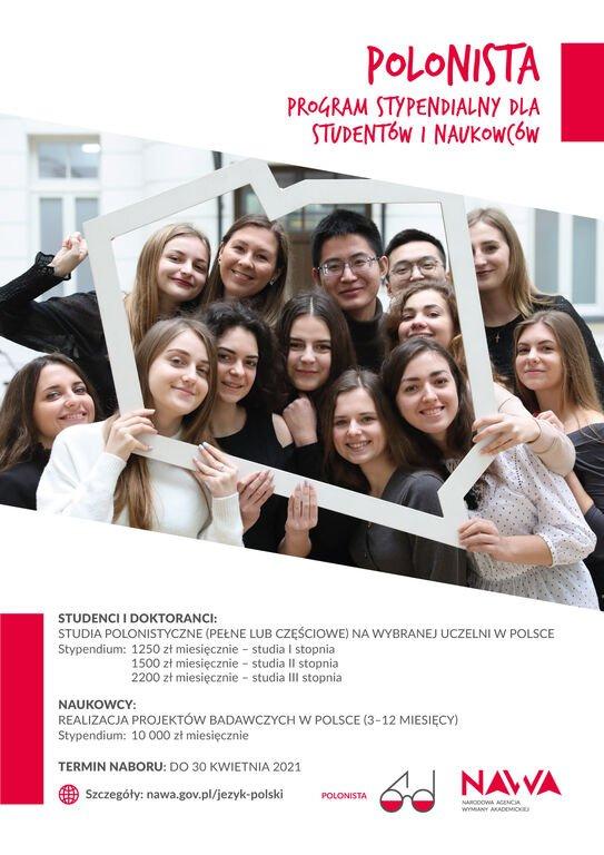 Polonista - program stypendialny dla studentów i naukowców